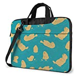 Schwimmen Bären Muster Laptop-Hülle Fall 15.6 Zoll Computer-Einkaufstasche Schulter Messenger Aktentasche
