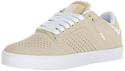 Osiris Men's Techniq VLC Skate Shoe, tan/White, 13 M US