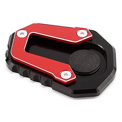 Soporte Pie Lateral para para F900XR F900R 2020 2021 CNC Soporte De Pie Placa De Extensión Lateral De Motocicleta Soporte F 900 para F900 R XR F 900R 900XR Almohadilla Extensión