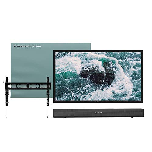 Discover Bargain Furrion Aurora - 65 Outdoor Entertainment Bundle with Full Shade Series 65-Inch Ou...