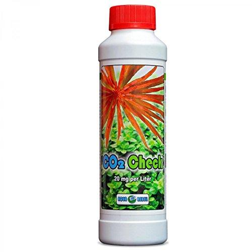 CO2 Check - 20mg/Liter - 250ml Testflüssigkeit mit Farbindikator inkl. Pipette für CO2 Dauertest zum genauen Bestimmen des Co2 Gehaltes im Aquarium