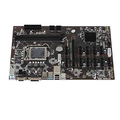 Andifany for B250 Mining Expert 12 PCIE Mining Rig BTC ETH Mining Motherboard LGA1151 USB3.0 SATA3 for B250 B250M DDR4