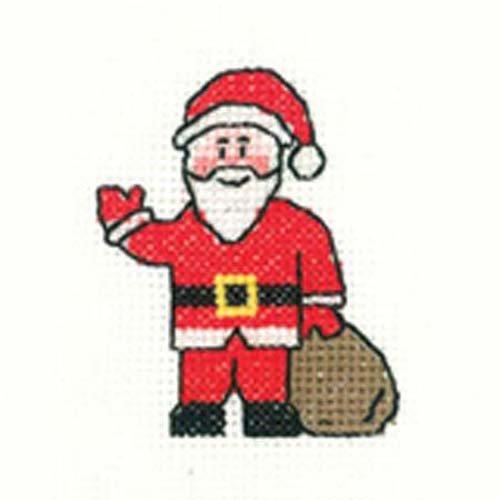 Santa Cross Stitch Kit