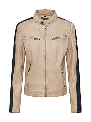 Gipsy by Mauritius Damen Bikerjacke Lederjacke SHADE LEGV - White (XL)