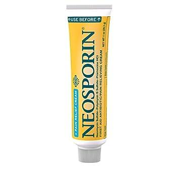 Neosporin + Pain Relief Dual Action Cream 1 Oz