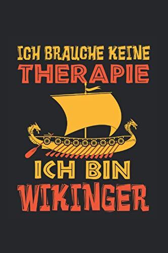 Kalender 2021: Wikinger Therapie Nordmann Valhalla Geschenk 120 Seiten, 6X9 (Ca. A5), Jahres-, Monats-, Wochen- & Tages-Planer