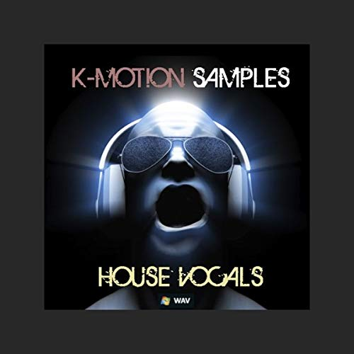K-Motion House Vocals - Download Sample Pack DVD non BOX