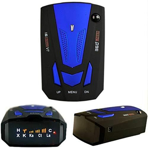 2020 Auto Radar Detektor V7 Cobra 16 Band 360 Auto Anti-Polizei GPS-Kamera Laser Radar Detektor Sprachalarm Geschwindigkeitskontrolldetektor