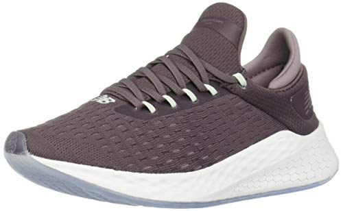New Balance Women's Fresh Foam Lazr V2 HypoKnit Sneaker, Light Shale/Chasmere/Water Vapor, 6 W US