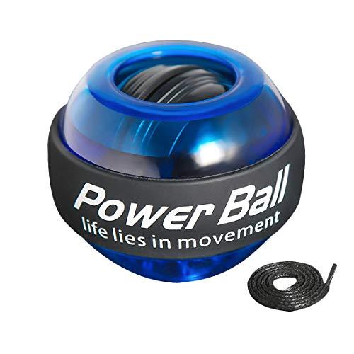 joyliveCY Handtrainer/Handgelenk Trainer zum Training der Hand- und Armmuskulatur mit gummiertem,Automatisch einschalten, mit Buntem Lichteffekt