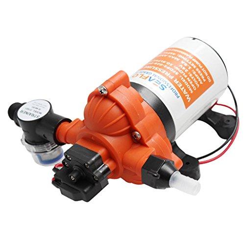 D DOLITY 1Pieza Membrana Bomba de Agua 12V Demanda Membrana selbstansaug Extremo Bomba de Agua Fresca para RV Marine