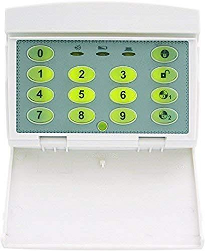 Smartwares draadloos toetsenveld Elro 868 MHz alarmsysteem SA68C, wit