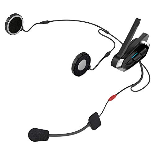 Sena 50R Flaches Motorrad Bluetooth Kommunikationssystem mit Mesh 2.0, Doppelpack - 3