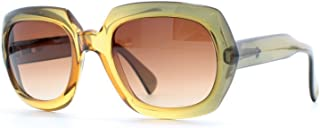 Optyl 18 Green Square Womens Cetified Vintage Sunglasses
