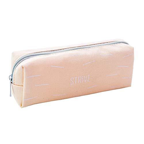 Boomly Mäppchen Tragbar Federmäppchen Wasserdicht Federtasche Stationäre Box Make-up Kosmetiktasche Reißverschluss Bleistifthalter Geschenke Tasche Für Teenager Jungs Mädchen 17.5 * 4.5 * 6CM