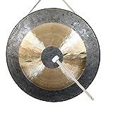 Vinbcorw Original Tan Tan Gong-Whood Chau Gong -Gong Grande-Gong de Mano-Latón Percusión de Cobre...