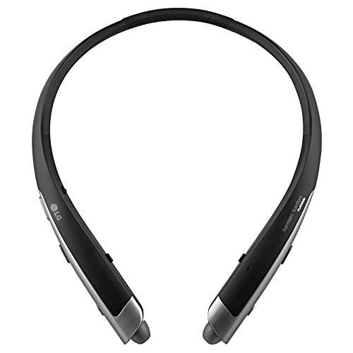 LG Tone Platinum HBS-1100 - Premium Wireless Stereo Headset - Black (Renewed)