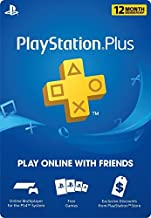 12 Month Playstation Plus Psn Membership Card (New) 1 Year
