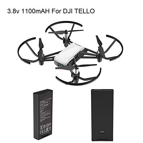 Yiwa accu-accessoires, 1100 mAh, 3,8 V, voor accessoires van Tello Drone