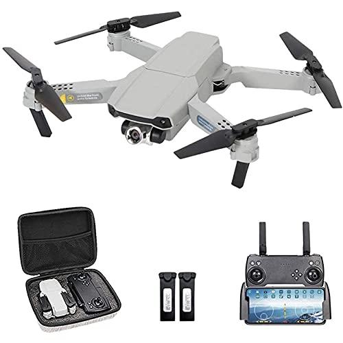 DCLINA Drone con Doppia Fotocamera 4K HD Mini Drone per Bambini Pieghevole con traiettoria Volo 3D modalità Senza Testa Volo Regolazione Automatica della velocità del Passaggio del Mouse