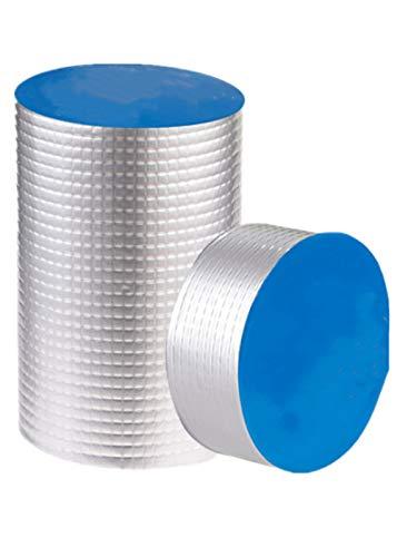 Cinta adhesiva de butilo muy impermeable, parche para reparar fugas de tejado, alféizar de ventanas, rotura de tubos, etc. (5 cm (ancho) x 1 mm (D) x 5 m (L))