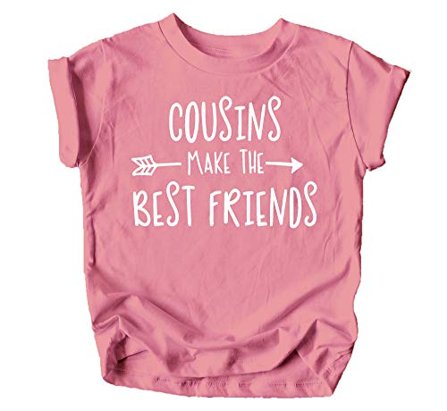 Cousins Make The Best Friend T-Shirt for Baby and Toddler Girls Fun...