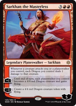 Magic: the Gathering - Sarkhan The Masterless - Sarkhan Senza Padrone - War of The Spark