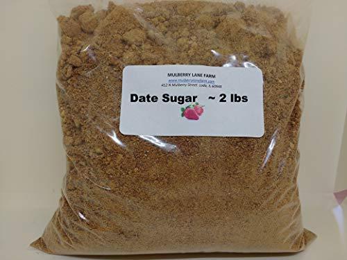 Date Sugar 2 Pounds All Natural Non-GMO Bulk