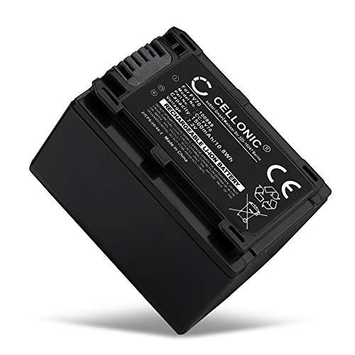 CELLONIC® Batteria di ricambio NP-FV70 NP-FV100 compatibile con Sony FDR-AX53 FDR-AX33 FDR-AX100E, HDR-CX280 HDR-CX305 HDR-CX425 HDR-CX570 HDR-CX625 HDR-CX730 Accu 1500mAh NP-FV70 sostituzioneBattery