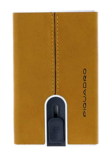 Piquadro - Portacarte giallo PP4825B3R