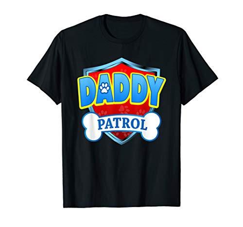 Funny DADDY Patrol - Dog Mom, Dad For Men Women T-Shirt