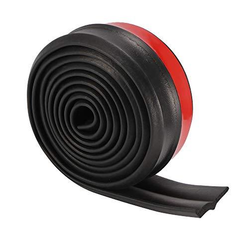 YChoice365 - Tiras protectoras para parachoques de coche, 2,5 m, universal, goma, 55 mm de ancho