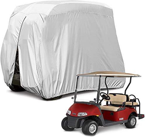 "Himal 4 Passenger 400D Waterproof Sunproof Golf cart Cover roof 80"" L, fits EZ GO, Club car and Yamaha, dustproof and Durable"