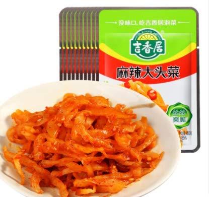 吉香居麻辣大頭菜【10点セット】 四川ザーサイ 味付けザーサイ ネコポス