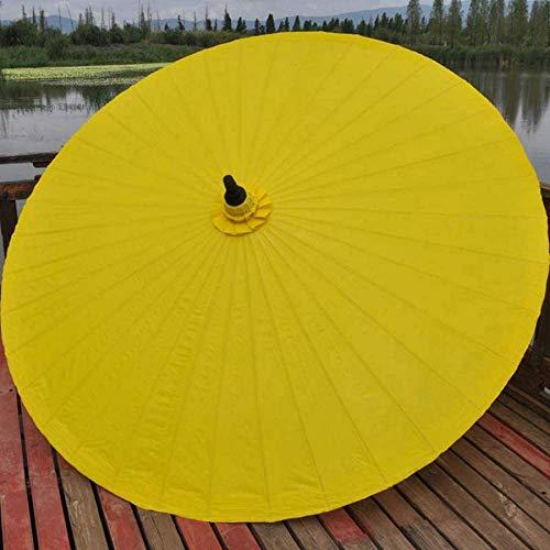 ZEH Sombrilla de Madera Jardín con Base 2m sombrilla de Patio al Aire Libre Paraguas con protección UV Estable a Prueba de Agua Sombrilla for la Playa/terraza/balcón/Mercado + Protector Solar (Color