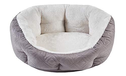 SCM Cama para Perros, Cama para Gatos, sofá para Perros cálido, Suave y cómodo para Perros pequeños y Gatos, cojín ortopédico para Perros