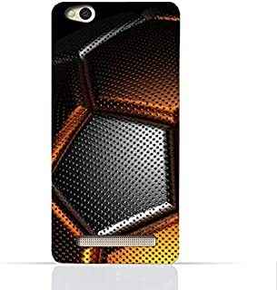Xiaomi Redmi 4a TPU Silicone Case With Soccer Ball Texture Design