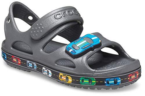 Sandália Crocs Fun Lab Car Sandal K, Crocs, Unissex, Slate Grey, 27