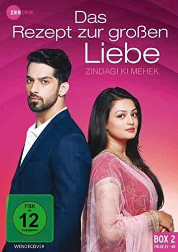 Das Rezept zur großen Liebe - Zindagi Ki Mehek (Box 2, Folge 21-40) [3 DVDs]