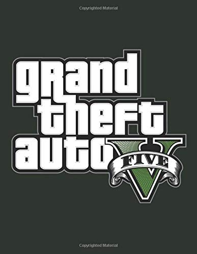 Grand theft auto v: Notebook gta 5 or gta v 100 lined pages size 8.5×11