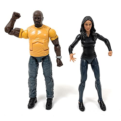 Marvel Legends Luke Cage & Claire Temple 2 Pack Exclusive