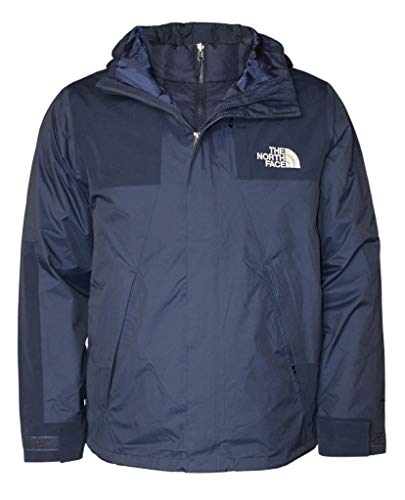 The North Face Men's Bandon Triclimate Insulated Down Dryvent 3 in 1 Jacket RTO (Tnf Navy, XL)