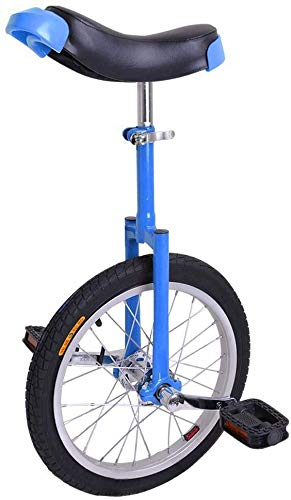Lowest Prices! Favfour Inc. Blue 16 Rim Metal Frame Unicycle 16 Inch in Mountain Bike Wheel Cycling...