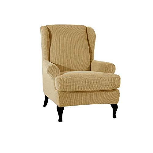 PETCUTE Ohrensessel husse ohrensessel bezug Stretch sesselhussen Sessel bezug husse für ohrensessel