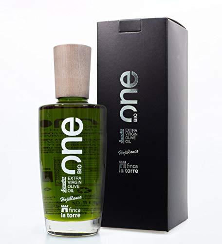 Finca la Torre ONE 500 ml - Ersten Tag der Ernte. Ökologisches Hojiblanca-Olivenöl