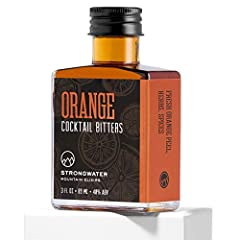 HANDCRAFTED BITTERS: Orange Bitters is abundant in classic cocktail recipes. Our version - fruit-forward, floral, and softly spiced - offers an alternative to the one-note orange bitters that dominate the market. REAL INGREDIENTS: Strongwater uses re...