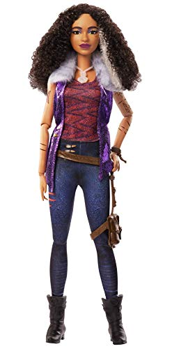 Zombies Disney?s 2, Willa Lykensen Werewolf Doll (11.5-inch) Wearing Rocker Outfit and Accessories, 11 Bendable ?Joints,? Great Gift for Ages 5+