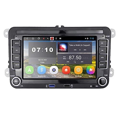 [2G+32G] Autoradio Android pour VW Navigation GPS 7  Écran Tactile Capacitif Bluetooth Voiture Stéréo WiFi Récepteur Radio FM USB pour Golf Polo Touran Tiguan Seat Altea