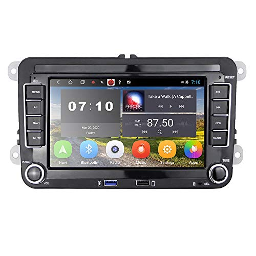 [2G+32G] Autoradio Android per VW GPS Navigation 7 '' Touch Screen capacitivo Bluetooth Car Stereo WIFI Radio FM Ricevitore USB per golf POLO Touran Tiguan Seat Altea