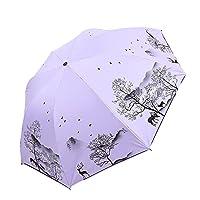 傘 遮熱 台風対応 UVカット 軽量 日傘 耐強風 晴雨兼用 日焼け防止 通勤 レディース 通学 耐風撥水 メンズ 携帯便利 丈夫 遮光 撥水 梅雨対策 超撥水 パープル